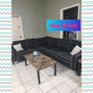Sectional Sofa with Coffee Tables for Sale in Glendale, AZ