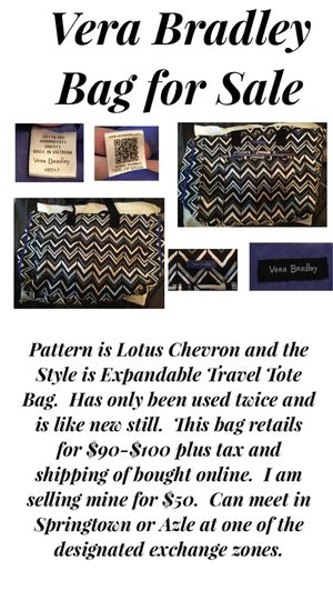 Vera Bradley Bag for Sale in Azle, TX