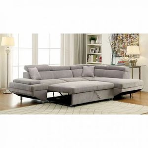 Contemporary Flannelette Sleeper Sectional with storage, available in 2 colors Now On Sale$1,259.00 Free Delivery 🚚 for Sale in Ontario, CA