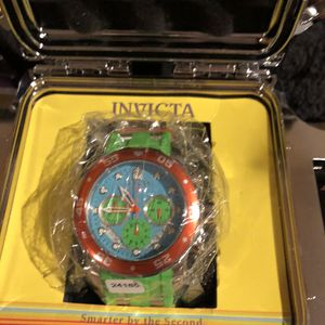 Invicta Neon Green And Blue Watch for Sale in Sloan, NV