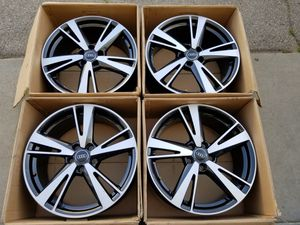 Audi RS3 Factory Staggered Wheels Rims for Sale in Los Angeles, CA