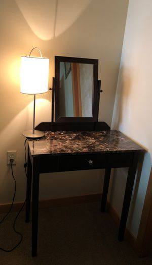 Dresser with mirror and a bonus seat for Sale in Seattle, WA