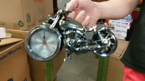 Motorcycle Desk Clock for Sale in Boyds, MD