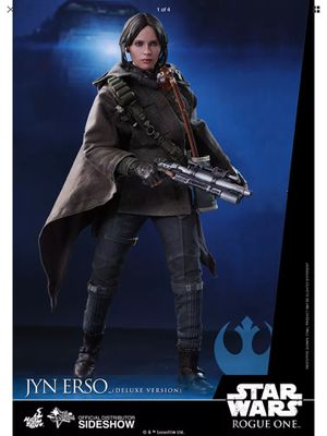 Hot toys Star Wars Rogue One Jyn Erso Deluxe Version for Sale in Long Beach, CA