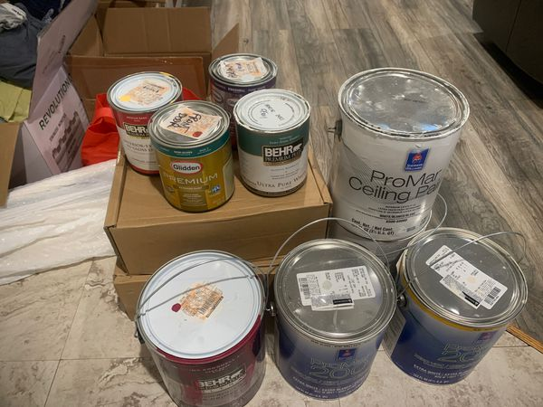 Free lot of paint FREE