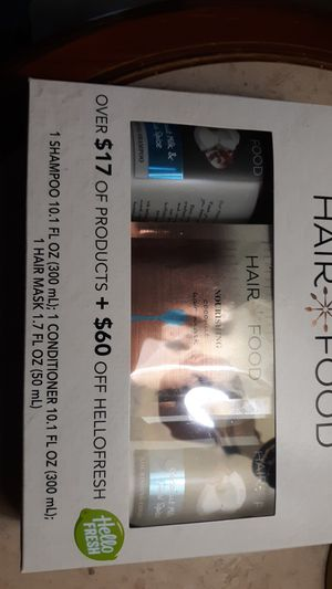 Hair food set for Sale in Port Neches, TX