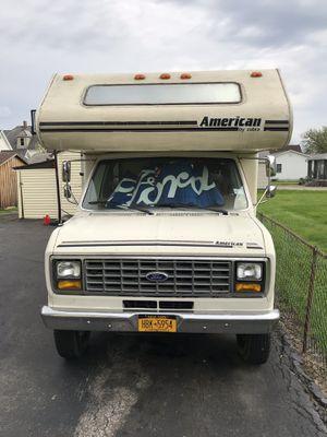 1988 e350 Econoline cobra Rv motor home or trade for Sale in Depew, NY