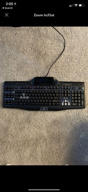 Logitech Gamimg keyboard (light up) for Sale in Franklin, TN