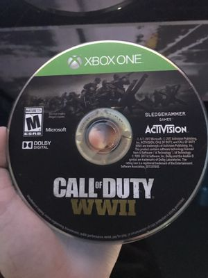 Call Of Duty WWll Xbox one game for Sale in Bradenton, FL