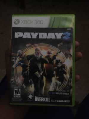Xbox 360 payday 2 for Sale in Richmond, CA