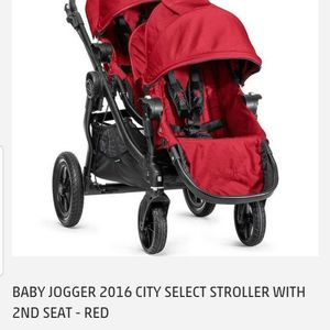 City Select Single Stroller With Toddler Stand Board for Sale in Corona, CA