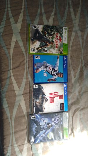 Ps4 and Xbox 360 games for Sale in Wahneta, FL