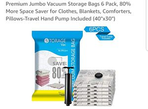 Vacuum storage bags for Sale in Suffern, NY