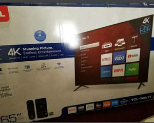 TCL 4K Smart TV for Sale in Airway Heights, WA