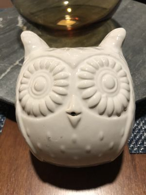 West Elm Ceramic Owl Wall Decor, Set of 2. Brand New! Paid $30 (Pottery Barn, Crate and Barrel, Urban Outfitters, William Sonoma, Anthropologie) for Sale in Portland, OR