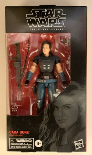 """Star Wars The Black Series: Cara Dune 6"""" Action Figure (#101) for Sale in Somerset, TX"""