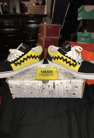 Vans Old Skool /Peanuts- Charlie Brown sz 10.5 for Sale in San Jose, CA