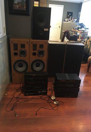 Stereo complete system/ speakers for Sale in Woodbridge, VA