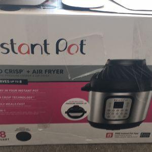 Instant Pot Duo Crisp + Air Fryer for Sale in Lakeland, FL