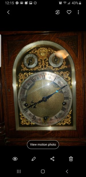 Winterhalder and Hoffmeier antique clock for Sale in San Rafael, CA