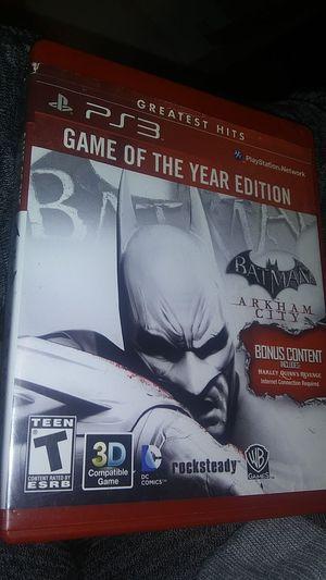 BATMAN: ARKHAM CITY (PS3) for Sale in Oklahoma City, OK