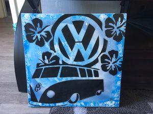 VW Bus spray paint wall art for Sale in San Luis Obispo, CA