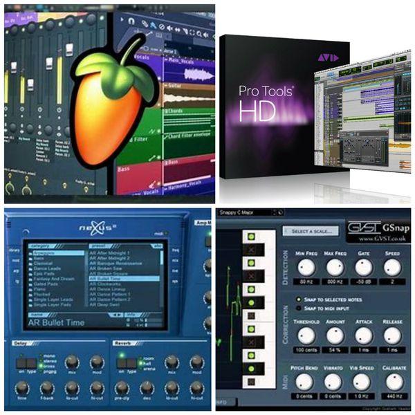 Protools 10 HD-Nexxus 2 Plugins-Fl Studio 12 for Windows!