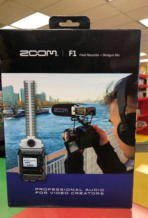 Zoom f1 field recorder for Sale in Austin, TX