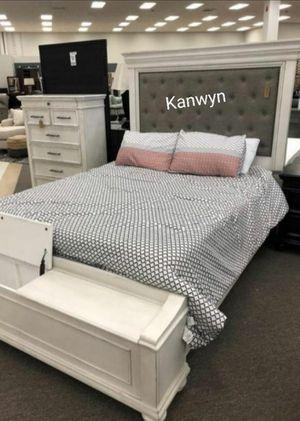 Kanwyn White Storage Spcl Bedroom Set for Sale in Baltimore, MD