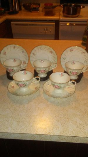 Bone China Tea Cups& Saucers for Sale in Oroville, CA