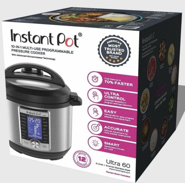 Instant Pot 60 Qt Brand New In Box For Sale In Seattle Wa