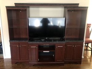 Cherrywood Entertainment Wall Unit for Sale in Fort Washington, MD