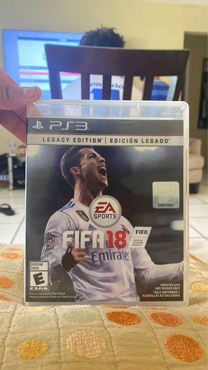 FIFA 18 in ps3 for Sale in Miami, FL