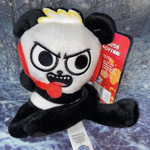 "NEW YouTube Nickelodeon Ryan's world 7"" plush Combo panda. for Sale in Bellflower, CA"