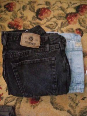 Bag of mens 32x 32 pants & 2 jean shorts brand names for Sale in Nashville, TN