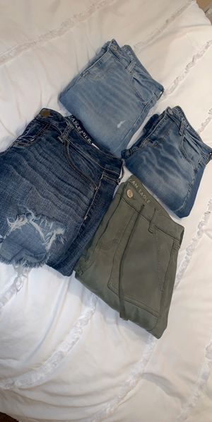 American Eagle Low and High Waisted Jeans for Sale in Stockton, CA