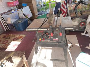 """10"""" Craftsmen table saw w/2 fences for Sale in Spring Valley, CA"""