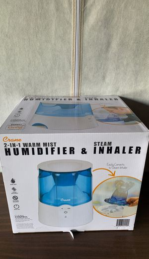 New Crane humidifier and inhaler for Sale in Mansfield, TX