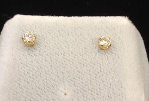 DIAMOND'S EARINGS 14 KT. for Sale in Denver, CO