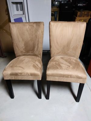 Beautiful Taupe Coaster Furniture Dining/Accent Chairs (2) for Sale in Denver, CO