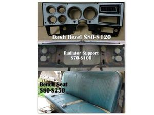 Chevy C10, Gmc Sierra, Square body, Truck parts for Sale in Seagoville, TX