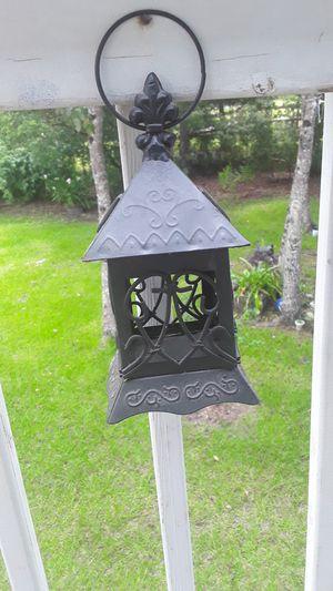 """8"""" metal lantern for Sale in Slidell, LA"""