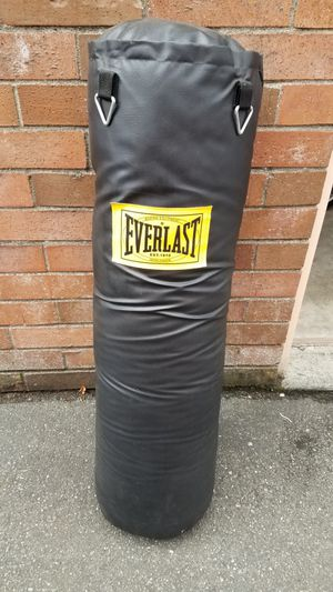 100lb Everlast Heavy Bag for Sale in Everett, WA