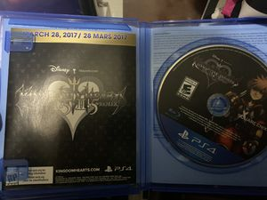 PS4 kingdom hearts limited edition for Sale in Oxnard, CA