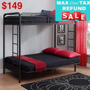 Twin over Futon Bunk Bed for Sale in Dallas, TX