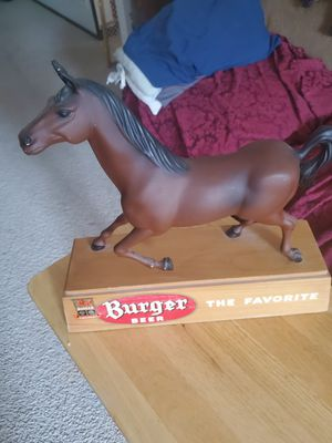 Burger beer horse old for Sale in Naperville, IL