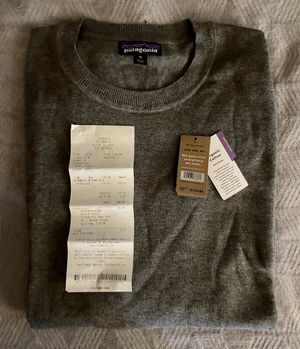 New Grey Patagonia Sweater for Sale in Pasadena, TX