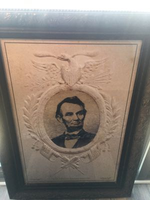 """The Great Emancipator"" - Abraham Lincoln - Historical Art- Home Decor for Sale in MARTINS ADD, MD"