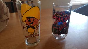 "Collector's Series ""Speedy Gonzalez and Spider Man"" Glasses,Collectible for Sale in Las Vegas, NV"