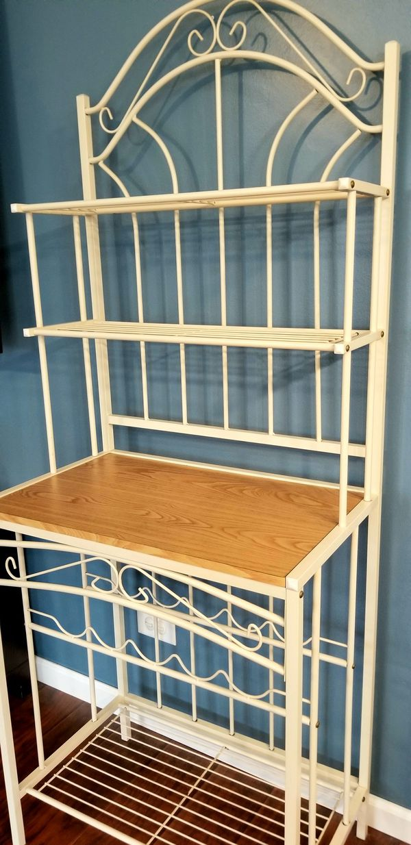 Bakers Rake, Wine Rack, Kitchen Storage, Microwave Stand